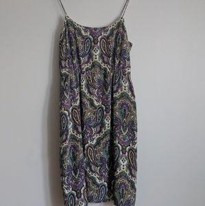 J Crew Dress Blouson Silk Dress